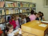 Prohlídka nové školní knihovny