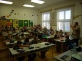 4-6 třída si povídá o pohádkách.